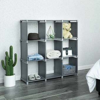 Williston Forge Hickory 2 Cube Storage Standard Bookcase Reviews Wayfair Ca
