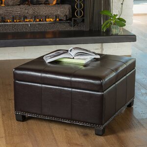 Lockington Storage Ottoman by Alcott Hill