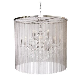Magari Cascata II 12-Light Drum Chandelier