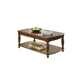Great Price Roddy Traditional Coffee Table with Storage By Charlton Home