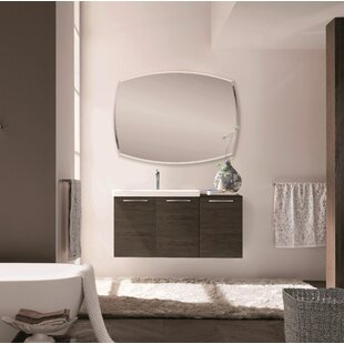 Shehata 42 Wall Mounted Single Bathroom Vanity by Orren Ellis