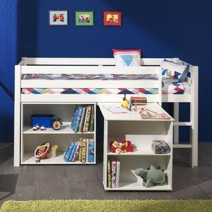 Ethridge European Single Mid Sleeper Bed With Furniture Set By Zoomie Kids