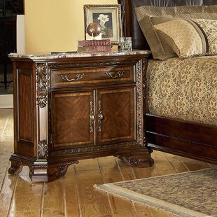 Brussels 1 Drawer Nightstand by Astoria Grand