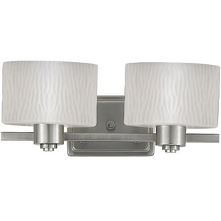 Latitude Run Bunn 2-Light Vanity Light