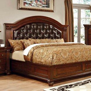 Best Deals Underwood Leatherette Headboard Upholstered Pannel Bed by Fleur De Lis Living Reviews (2019) & Buyer's Guide