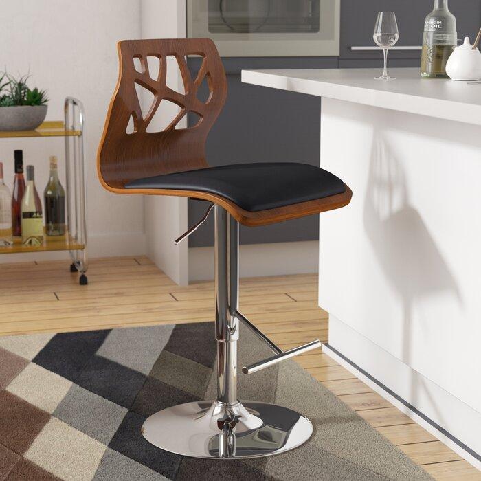 Remarkable Mcdowell Swivel Adjustable Height Swivel Bar Stool Pdpeps Interior Chair Design Pdpepsorg