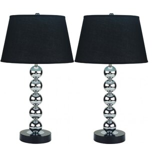 Kyela Orbs Stacked 30 Table Lamp (Set of 2)