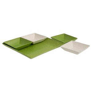 Caton 5 Piece Serving and Snack Tray Set