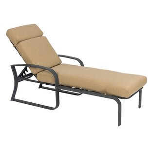 Cayman Isle Chaise Lounge with Cushion by Woodard