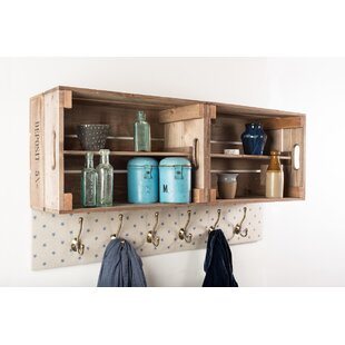Caudillo Wall Mounted Coat Rack By Union Rustic
