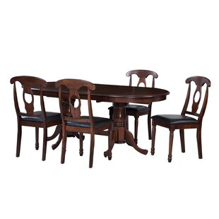 Bateson 5 Piece Dining Set by Darby Home Co