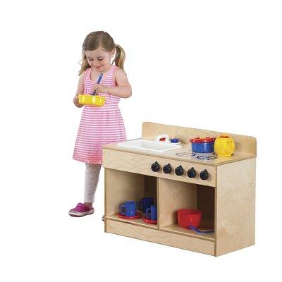 Whitney Bros. Let\'s Play Toddler Kitchen Set & Reviews   Wayfair