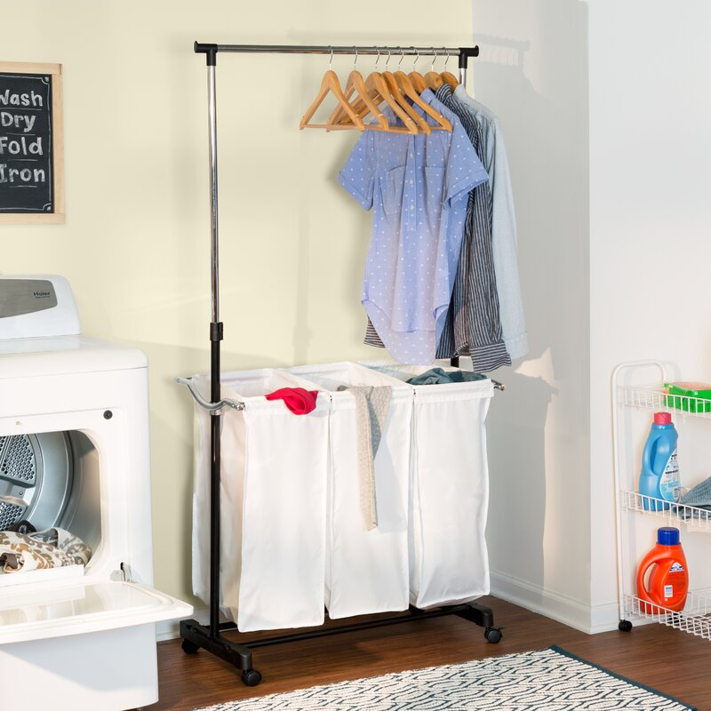 Laundry Center with Hanging Bar