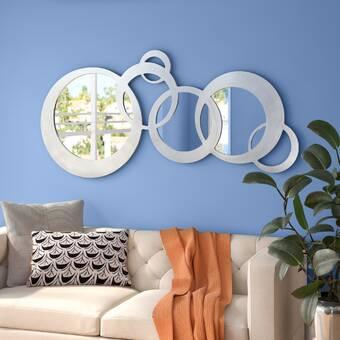 Cyan Design Skyscraper Sleek And Chic Modern Frameless Wall Mirror Wayfair