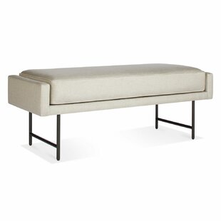 Bank Upholstered Bench by Blu Dot