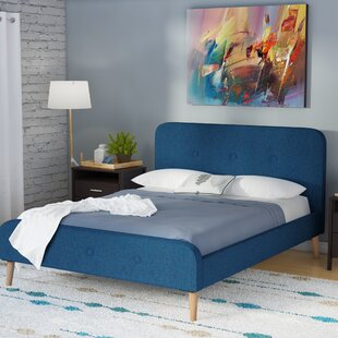 Rochelle Upholstered Bed Frame By Mikado Living