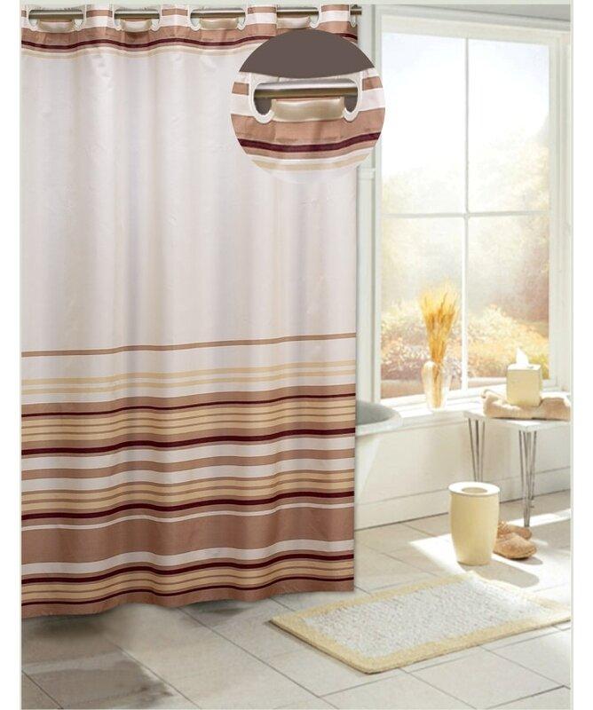 Allenwood Stripes Shower Curtain