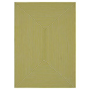 Kircher Hand-Woven Lime Indoor/Outdoor Area Rug