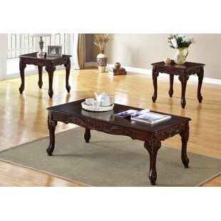 Raye 3 Piece Coffee Table Set