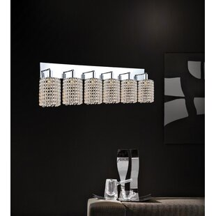 Rosdorf Park Boleyn 6-Light Chrome Vanity Light