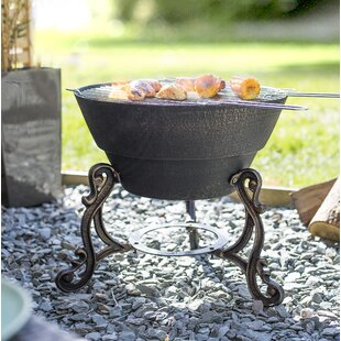 Corbin Iron Wood Burning Fire Pit By Sol 72 Outdoor