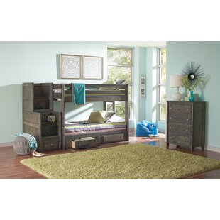 Malina Youth Full over Full Configurable Bedroom Set