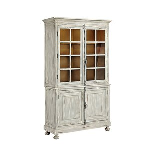 Pinkerton Display Curio Cabinet by August Grove