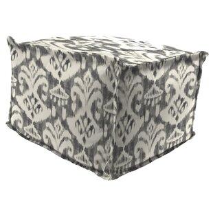 Ebern Designs Morello Flange Edge Pouf Ot..