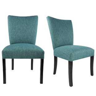 Tatianna Upholstered Contemporary Parsons Chair (Set of 2) Red Barrel Studio