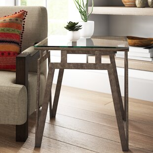 Clare End Table by Mistana