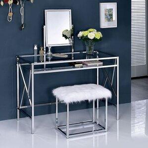 Kaia Vanity Set With Mirror