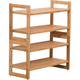 Rebrilliant 4-Tier Shoe Rack (Set of 2)