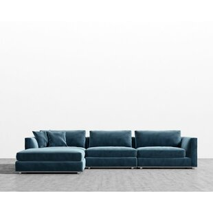 Brayden Studio Clemons Modular Sectional with Ottoman