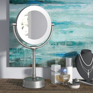 Compare & Buy Gwinn Glam Sunlight Makeup Mirror By Three Posts