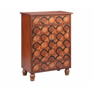 Argaki 2 Door Accent Cabinet by World Menagerie