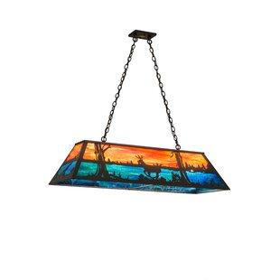 Meyda Tiffany 6-Light Pool Table Lights Pendant