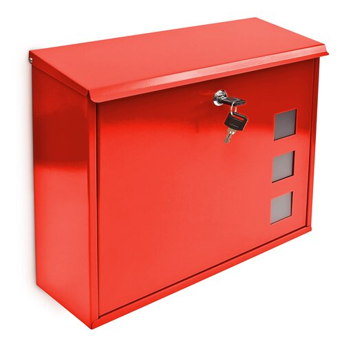 Kaat Briefkasten Garten Living Farbe: Rot | Baumarkt > Briefkästen | Garten Living