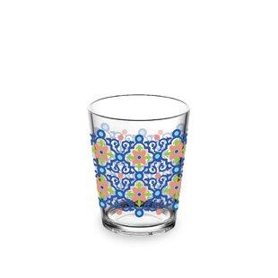 Talavera Tile 444ml Plastic Drinking Glass (Set Of 4) By Tar Hong