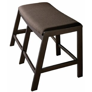 Enzo Dining Wood Bench by Latitude Run