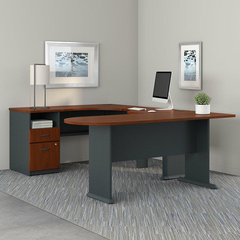Bush Business Furniture Series A U Shaped Corner desk