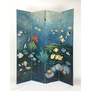 Darby Home Co Tod 4 Panel Room Divider