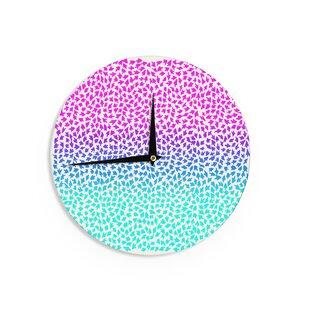 Sreetama Ray 'Ombre Arrows' 12 Wall Clock by East Urban Home