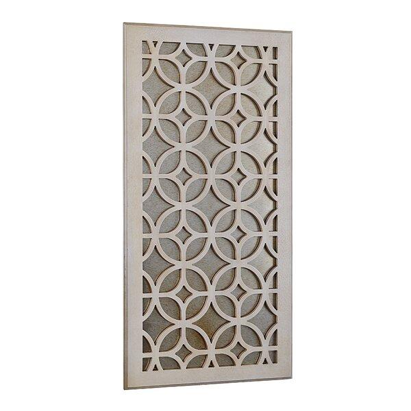 UtopiaAlley Moroccan Distressed Wood Wall Mirror U0026 Reviews | Wayfair