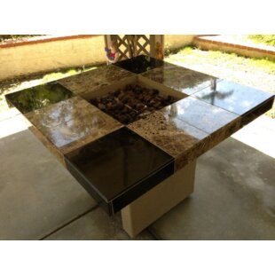 Kokomo Grills Jamaica Stone Propane/Natural Gas Fire Pit Table