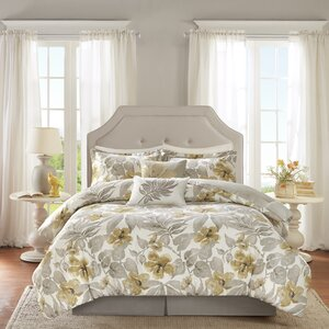 Gabrielle Cotton 6 Piece Comforter Set
