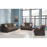 Ilyas 3 Piece Sleeper Living Room Set by Red Barrel Studio®