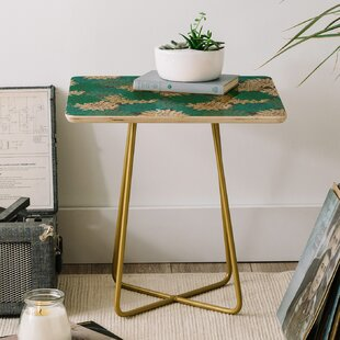 Great choice Holli Zollinger Flora Minted End Table by East Urban Home