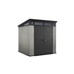 Artisan 7 Ft. W X 7 Ft. D Plastic Garden Shed By Keter