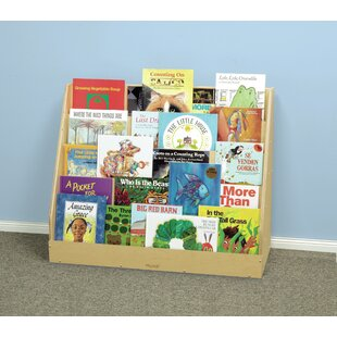 Look for Siloam 5 Shelf with Magnetic Dry Erase Back 28.937 Book Display By Zoomie Kids