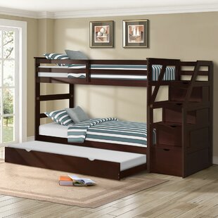 Alcrossagh Twin Bunk Bed with Trundle